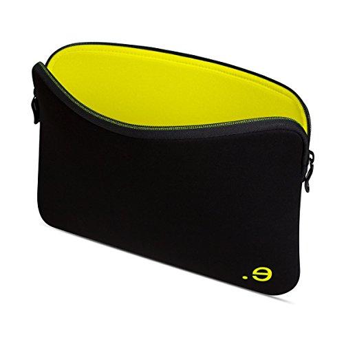 Be.ez LA Robe Case for MacBook Pro 13' (End 2016+)/MacBook Air 13' Retina (2018) Addicted Black/Lemon