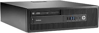 HP EliteDesk 800 G1 SFF Desktop PC i5-4570 3.2GHz 8GB RAM 480GB SSD Windows 10 (Renewed)