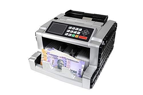 ZEXA Trucase Mix Note Value Currency Counting Machine and Fake Note Detection