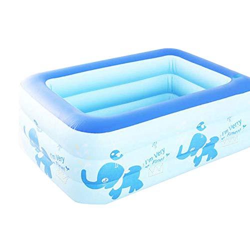 JSIHENA Piscina Inflable niños bañándose Piscina bañera Inflable Hinchable Portátil para Bebés...
