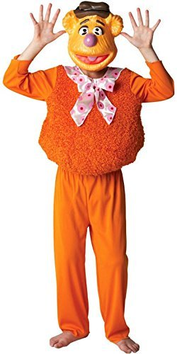 Jungen Mädchen Offiziell Disney Deluxe Die Muppets 1960s Jahre 1970s Jahre Cartoon Film Halloween Buch Tag Woche Kostüm Kleid Outfit - Fozzy Bär, 7-8 Years
