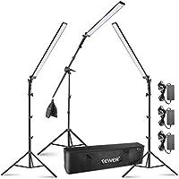 3-Pack Neewer LED Video Light Stick Kit