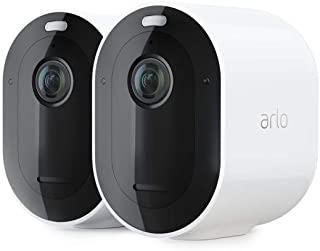Arlo Pro3 Smart Home Security CCTV Camera System   Wireless Wi-Fi, Alarm, Rechargeable, Colour Night Vision, Indoor or Out...
