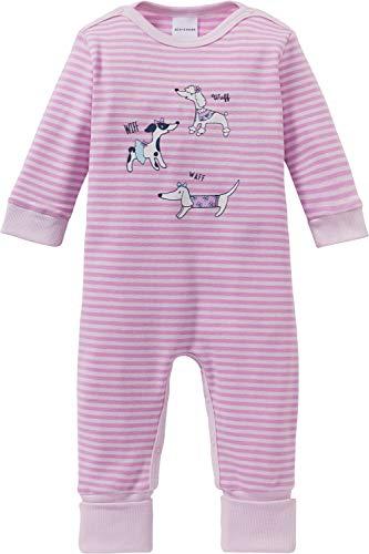 Schiesser Schiesser Baby-Schlafanzug mit Druckmotiv rosa Größe 62