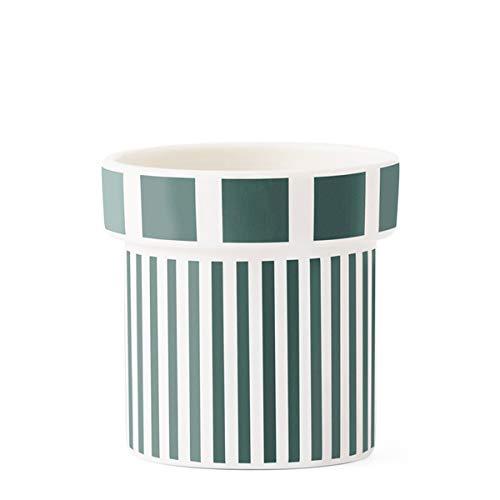 Tivoli by Normann Copenhagen - Tasse, Espressotasse, Mokkatasse, Kaffeebecher - Lolli - 40 ml - Farbe: Garden Green, Grün - Porzellan