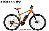 Atala - Bicicleta B-Race CX 500 Gamma 2020, ORANGE BLACK WHITE MATT, 18' - 46 CM