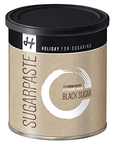 Zuckerpaste BLACK SUGAR Schwarz Soft 1 kg Sugaring Die Krönung unserer Zuckerpasten Haarentfernung ohne Vliesstreifen mit der Flicking Technik