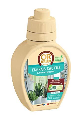 Or brun Cactus et Plantes Grasses UAB, 250ml Engrais, Bleu
