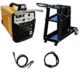 Poste à souder MIG/MAG inverter Silex® (160 A / 230 V, Écran LED, Hot Start, IGBT, Câble de 3m) + chariot de transport