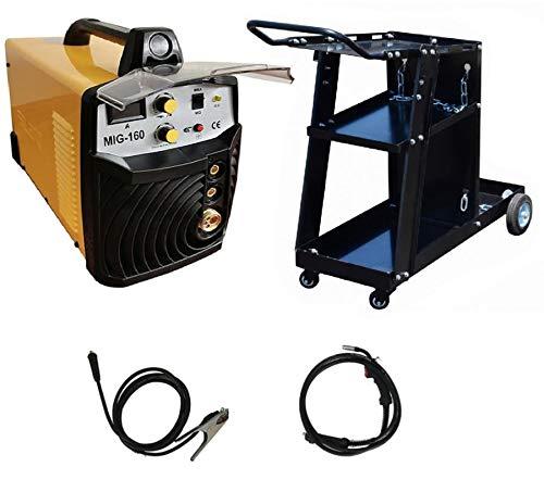 Poste à souder MIG/MAG inverter Silex® (160 A / 230 V, Écran LED, Hot Start, IGBT, Câble de 3m)...