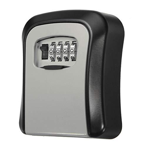 Almacenamiento al aire libre Caja de seguridad HJXSXHZ366 clave Ocultar la caja montada en la pared combinación de la cerradura de bloqueo
