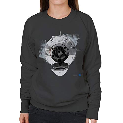 Nasa SpaceX Dragon Capsule Docking Women's Sweatshirt