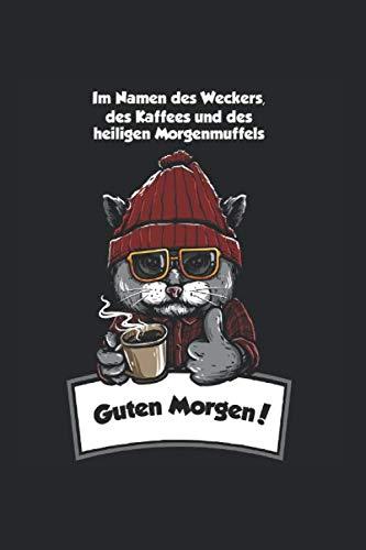 Morgenmuffel Kaffee Langschläfer Sarkasmus: Liniertes Notizbuch & Journal   6