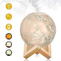 ムーン・ランプのナイトライトナイトミスト清浄のためにオフィアロマディフューザー超音波エッセンシャルオイル880ミリリットルエアUSB加湿器のフルクール (Color : Aroma Diffuser)