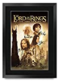 HWC Trading Lord of The Rings The Two Towers A3 Gerahmte