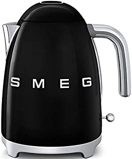 Smeg Bouilloire électrique KLF03BLEU Noir, 2400 W, 1.7 liters