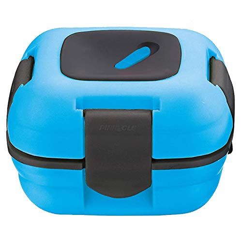 Lunch Box ~ Pinnacle Insulated Leak Proof Lunch Box for Adults and Kids - Thermal Lunch Container With NEW Heat Release Valve, 16 oz - Blue