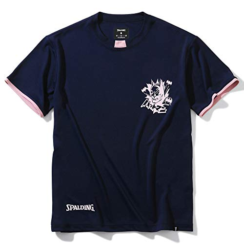 SPALDING(スポルディング) バスケットボール Tシャツ バットマン SMT200500 ネイビー Mサイズ バスケ バスケット