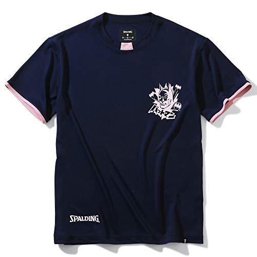 SPALDING(スポルディング) バスケットボール Tシャツ バットマン SMT200500 ネイビー Lサイズ バスケ バスケット