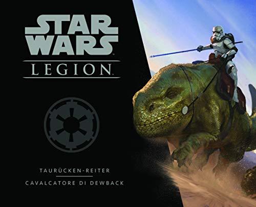 Asmodee- Star Wars: Legion Cavalcatori di Dewback expansión Juego de Mesa con espléndidas miniaturas, Color, 10238