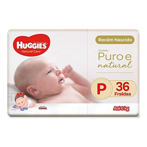 Fralda Huggies Natural Care P, 36 Fraldas, Huggies