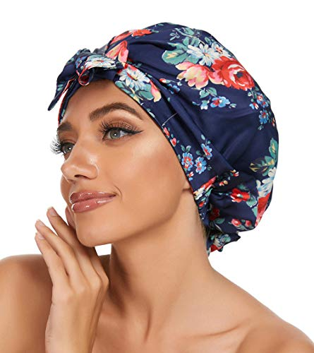 Sleeping Caps For Women To Protect Hair Satin
