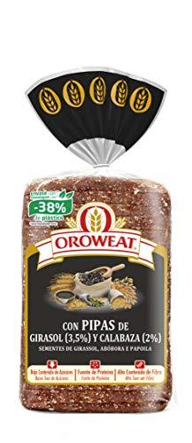 Oroweat - Pan de Grano Completo con Pipas de Calabaza