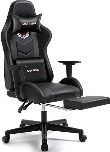 Shuanghu Gaming Chair Office Chair Ergonomic PC Computer Chair with...
