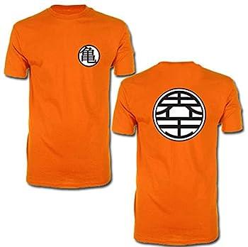 Great Eastern Entertainment Dragon Ball Z Kame Symbol Men Screen Print T-Shirt Multicolored Medium