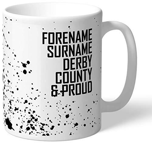 Personalised Derby County Proud Mug