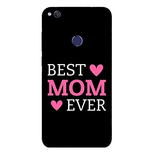 Funda P9 Lite 2017 Carcasa Huawei P9 Lite 2017 Día de la madre la mejor madre de todas / Cubierta Imprimir también en los lados / Cover Antideslizante Antideslizante Antiarañazos Resistente a golpe
