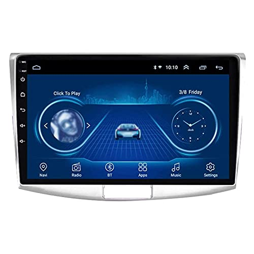 Para Volkswagen Passat 7 2010-2015 Android 9.1 Radio de coche Navegación GPS Unidad principal de 9 pulgadas Pantalla táctil capacitiva Soporte Control de teléfono Reproductor multimedia SWC, ocho núcl