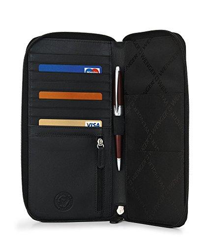 WENGER Alphubel Brieftasche aus Nappaleder