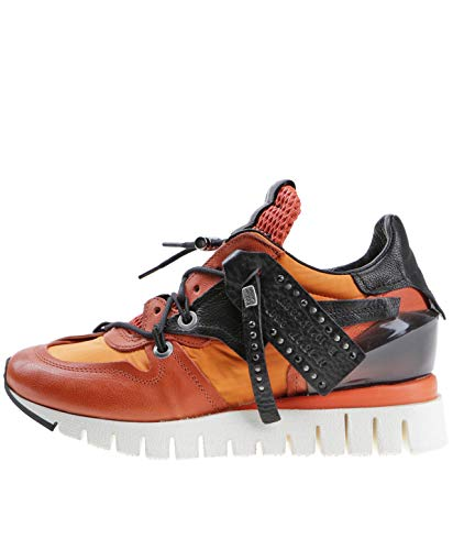 A.S.98 Sneaker Orange 42