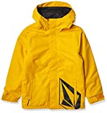 Volcom Boys' 17FORTY Insulated Snow Jacket, Resin Gold, XS