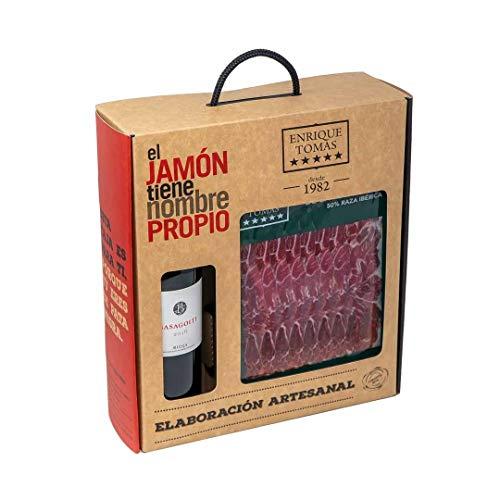 PACK JAMÓN Y VINO - Paleta de Cebo de Campo 50% Ibérica