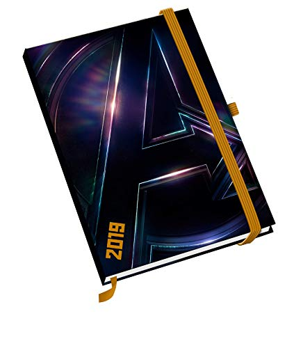 Avengers Infinity A5 Official 2019 Diary - A5 Diary Format