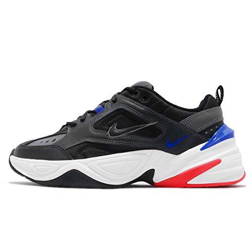 Nike M2k Tekno, Scarpe da fitness Uomo, Multicolore (Dark Grey/Black/Baroque Brown/Racer Blue 003), 44 EU