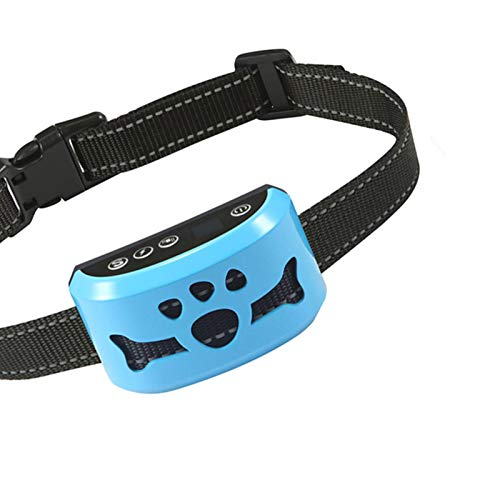 ZNFSZ Bark Collar for Dogs,Rechargeable Anti Barking Training Collar with 7 Adjustable Sensitivity and Intensity Beep Vibration for Small Medium Large Dogs