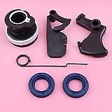 Acelerador gatillo interlock Spring Top muesca piezas para Stihl MS180 MS170 018 017 MS 180 170 colector de admisión sello aceite motosierra pieza de repuesto