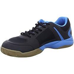 PUMA unisex adult Veloz Indoor II indoor shoes, black (Black-White-cloisonné 01), 43 EU