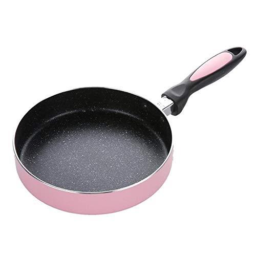 Sartén Aleación de aluminio antiadherente panqueque filete frito tortilla de huevo DIY mermelada sartén revestimiento sartén para cocinar
