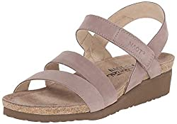 best travel sandals for women Naot Kayla wedge sandals