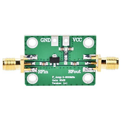 Módulo amplificador de comunicación-Módulo amplificador RF de banda ancha de bajo ruido 50-4000MHz DC5V 21.8dB de ganancia