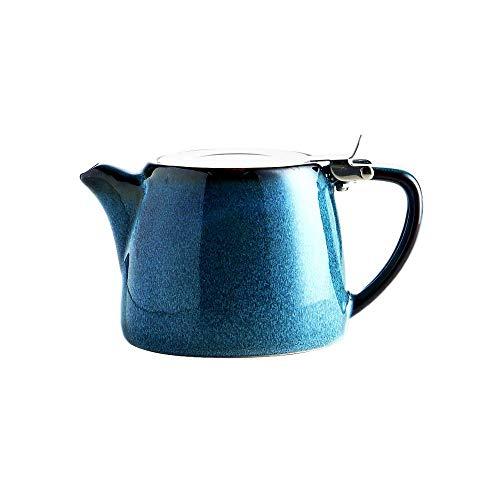 Tipo de filtro de cerámica para café con filtro de acero inoxidable 304 para el hogar, oficina, sin filtros, juego de cafetera es adecuado para hacer café y té de escenas como regalo para JoinBuy.R