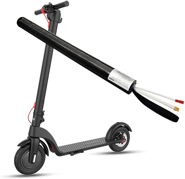 Batería eléctrica para scooter, batería de fibra de carbono, 24 V, 5,2 Ah, 7,5 Ah, 8 Ah, 10 Ah, 12 Ah, batería de litio redonda, BMS, apta para scooters-24 V 9 AH Panasonic 3000 mAh