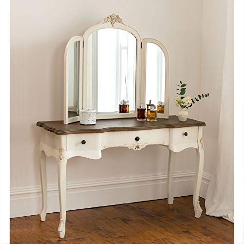 homesdirect365 Annaelle Antique French Style Dressing Table