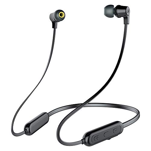 Infinity(JBL) Glide N100 Wireless Neckband with Deep Bass Dual EQ Bluetooth 5.0 & Sweatproof (Charcoal Black)