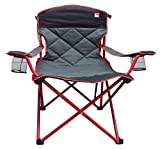Outdoor Spectator Super Oversized Double Quilted Padded XXL Big Boy 500 lb. Capacity Folding Camp Chair