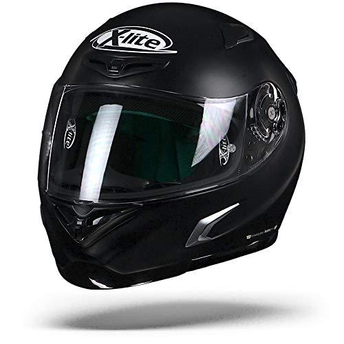 X-lite X-802RR Start Integralhelm Motorrad Verbundfaser - matt schwarz Größe L